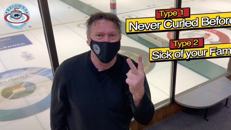 Funny Video Masks Curling Fears