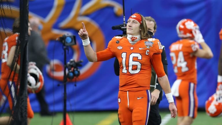 Trevor Lawrence Officially Declares for the NFL Draft
