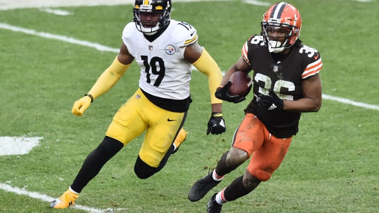 Cleveland Browns vs. Pittsburgh Steelers -- Playoff Game Live Thread