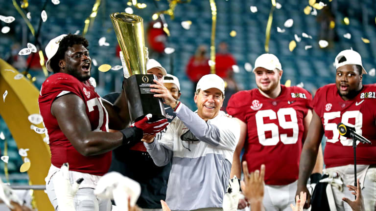 With Seven National Championships, Saban Stands Alone