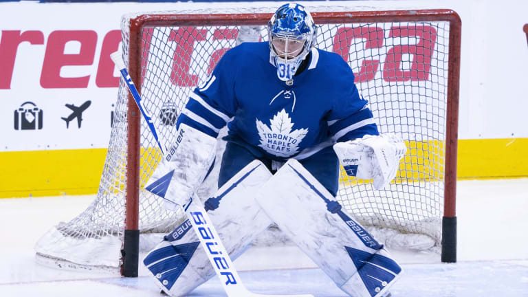 Maple Leafs G Frederik Andersen aims to 'stay in the moment' in final year of contract