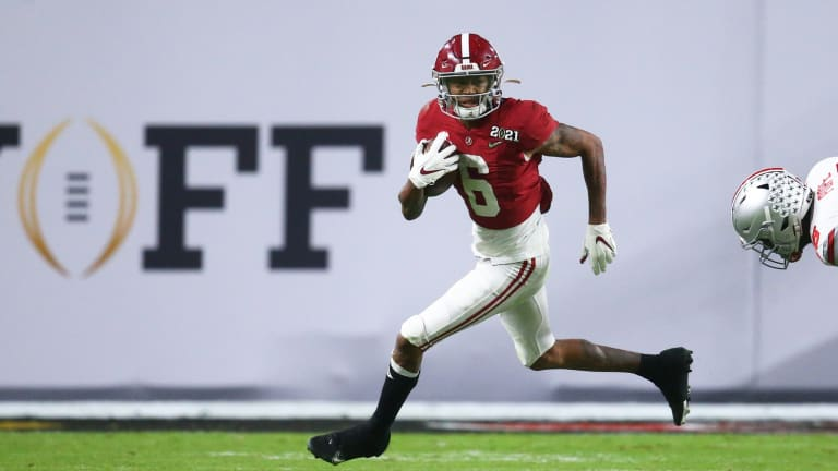 Devonta Smith Believed the Giants Were Looking to Draft Him at No. 11