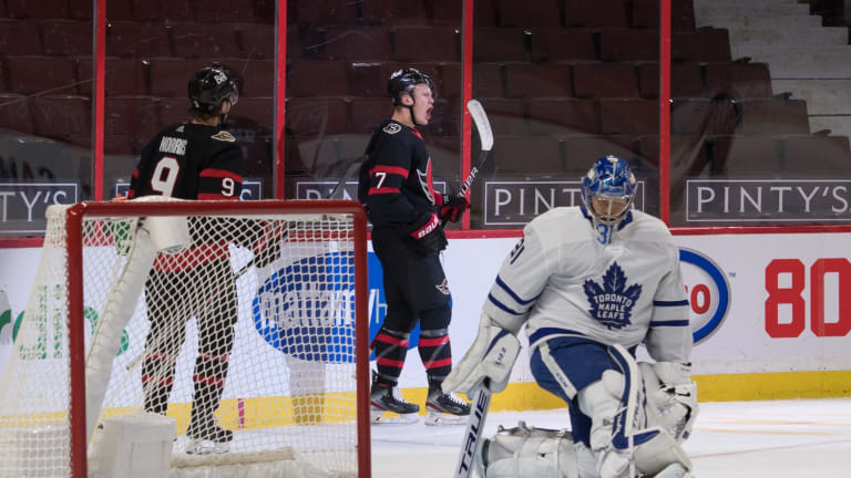 Maple Leafs have Trio of Issues Creep Up in Loss to Senators