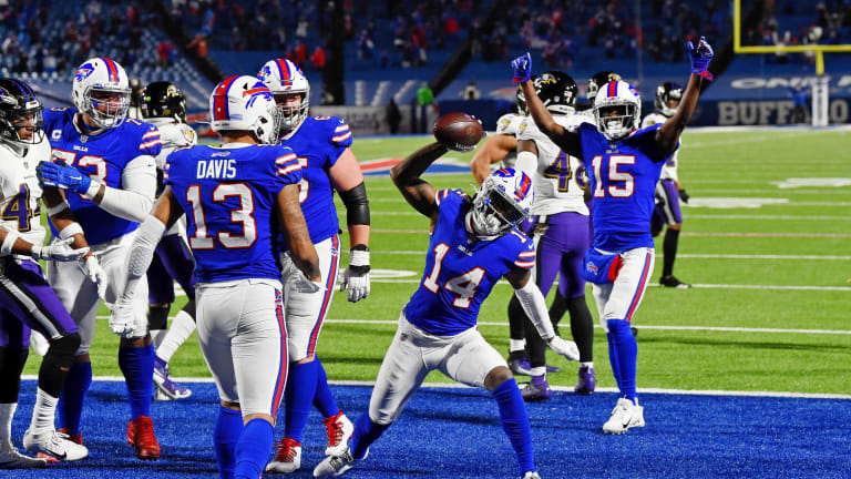 Bills ground the Ravens, advance to AFC Championship Game