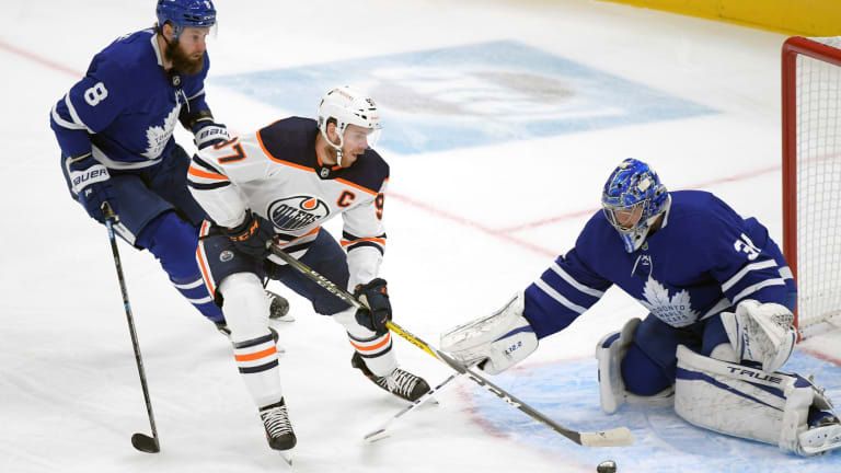 Tight Defensive Effort Provides Little Consolation for Maple Leafs Against Oilers