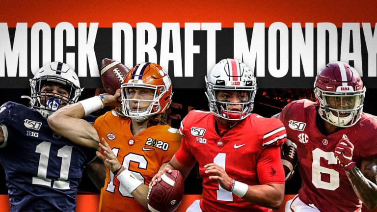 Mock Draft Monday: The Carolina Panthers get their franchise quarterback