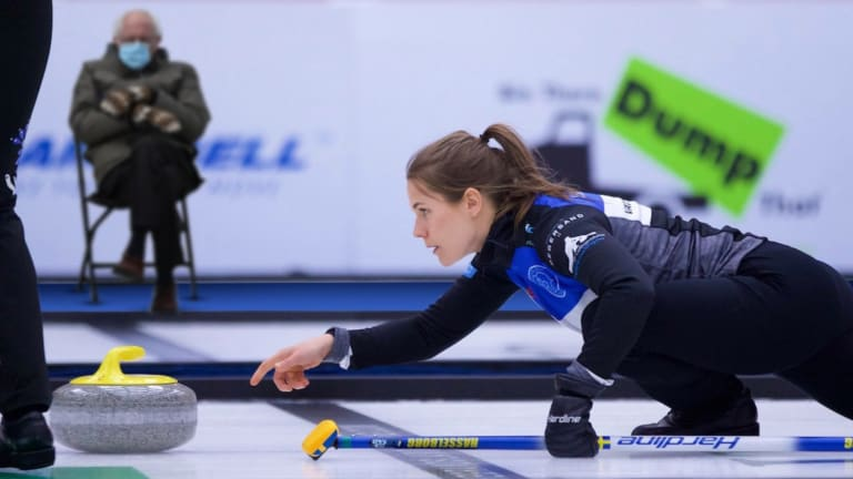 Curling Feels The Bern