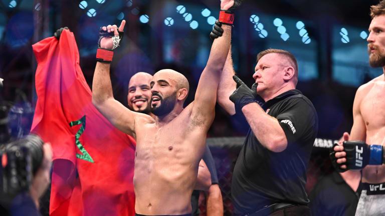 Ottman Azaitar Removed from UFC 257 at Fight Island, Violates COVID-19 Protocols