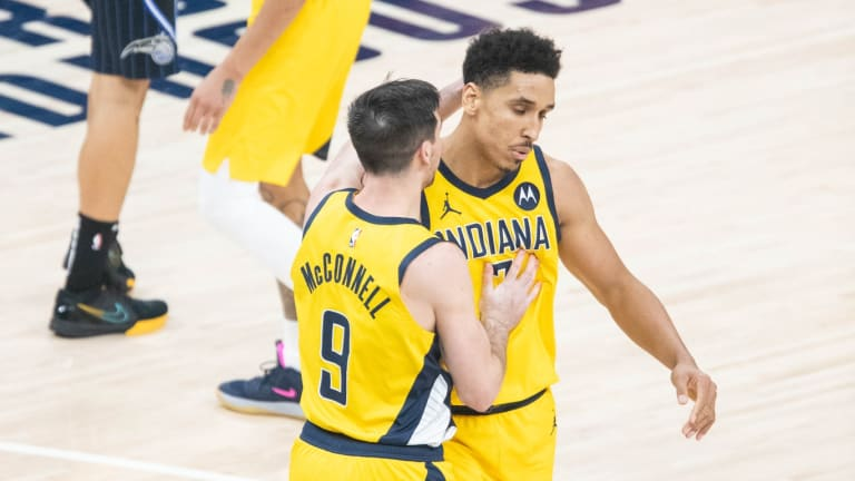 Check Out The Photo The Pacers Tweeted Of Malcolm Brogdon