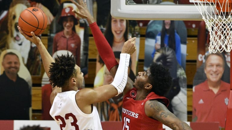 More Defensive Lapses Put Hoosiers in Bad Spot in 74-70 Loss to Rutgers