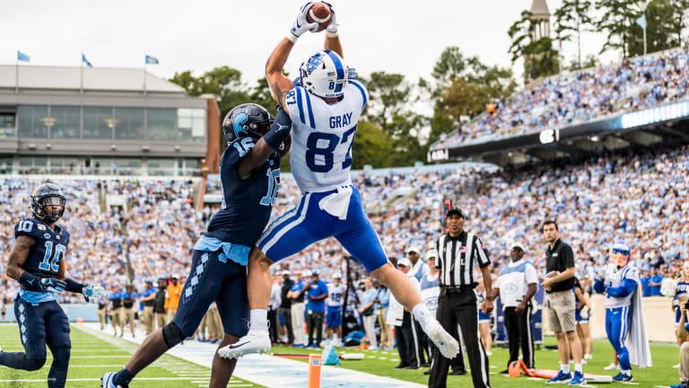 Player Spotlight: Interview Noah Gray, TE, Duke  
