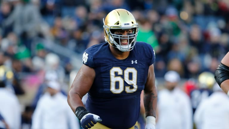 The Scouting Lenz: Notre Dame OL Aaron Banks