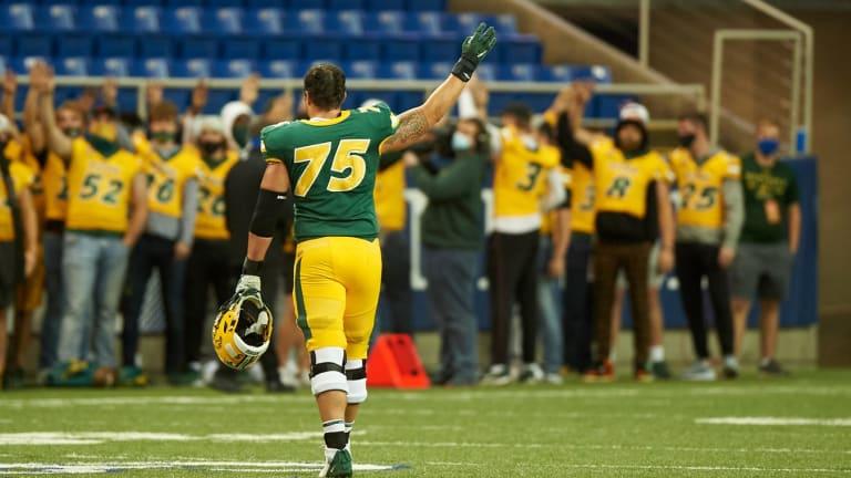 Player Spotlight: Interview with Dillon Radunz, OT, North Dakota State
