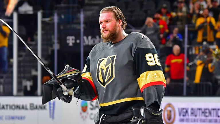 Robin Lehner: Out of the darkness and into the light