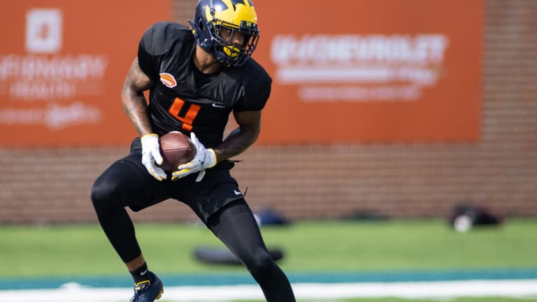 Who saw their Fantasy Football stock rise after the Senior Bowl?
