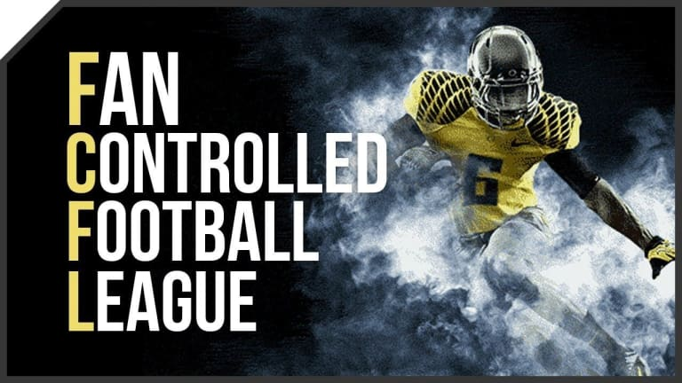 Fan Controlled Football (FCF) Week 1 – Live Broadcast