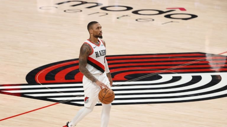 Damian Lillard Comes Alive Late In Blazers' Heart-Stopping Win Over Warriors