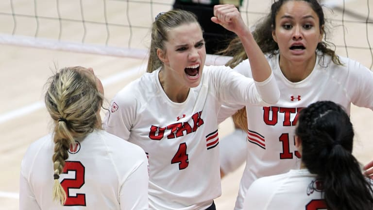No. 9 Utah Volleyball Gets The Weekend Split With No. 17 UCLA