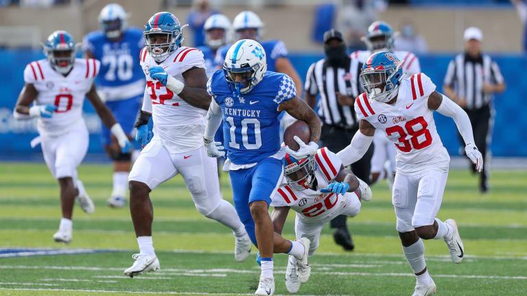 Asim Rose - Running Back Kentucky Wildcats 2021 NFL Draft Scouting Report
