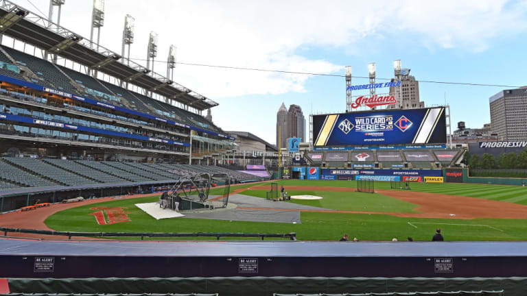 Ohio Gov Mike DeWine Says Progressive Field Expected to Be 30 Percent Full For Indians Games