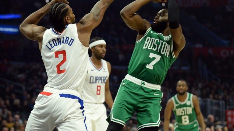 Breaking: Celtics' Jaylen Brown ACTIVE vs. LA Clippers