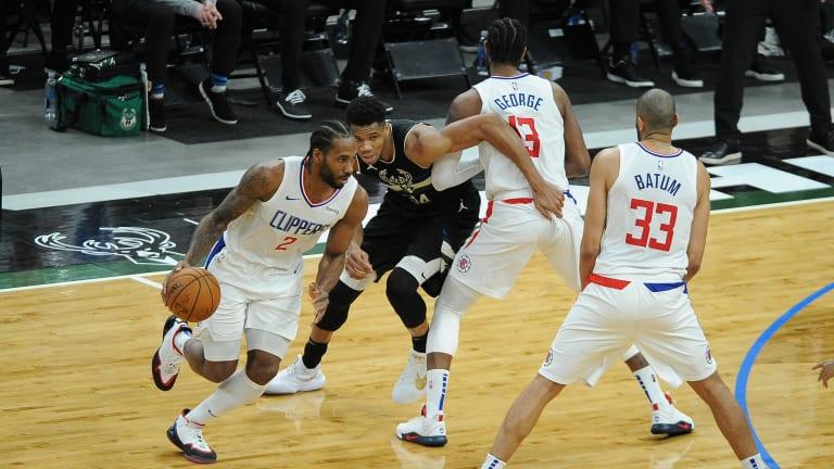 LA Clippers' Kawhi Leonard Back Spasms Originated in Sunday's Bucks Game