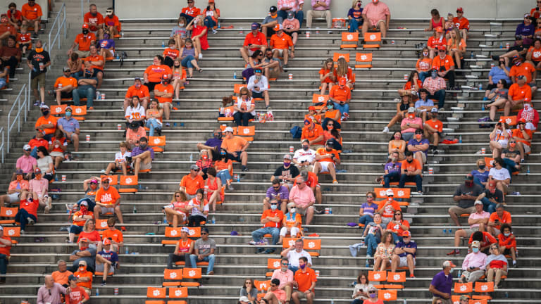 Clemson Plans on Filling Death Valley This Fall