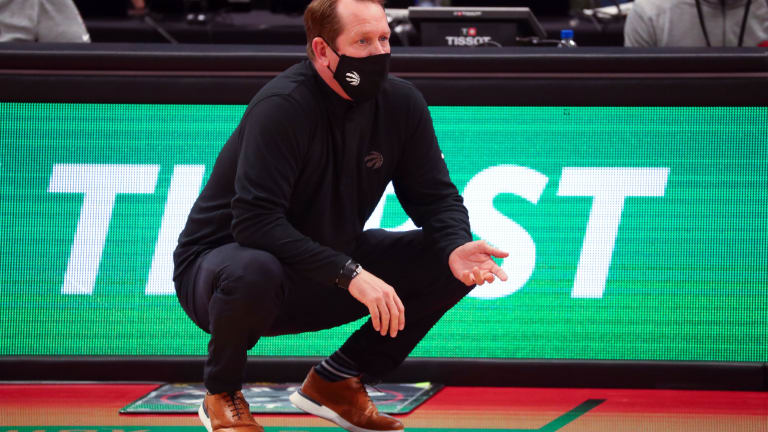 Nick Nurse Pushes Back Against Report That Mask Issues Within Coaching Staff Led to COVID-19 Issues