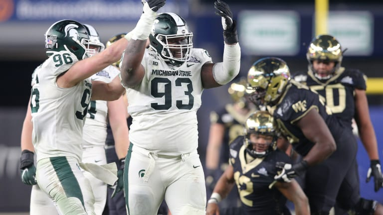 Naquan Jones - Nose Guard Michigan State Spartans Scouting Report - The NFL  Draft Bible on Sports Illustrated: The Leading Authority on the NFL Draft
