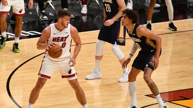 League Hands Out Punishment for Miami Heat's Meyers Leonard