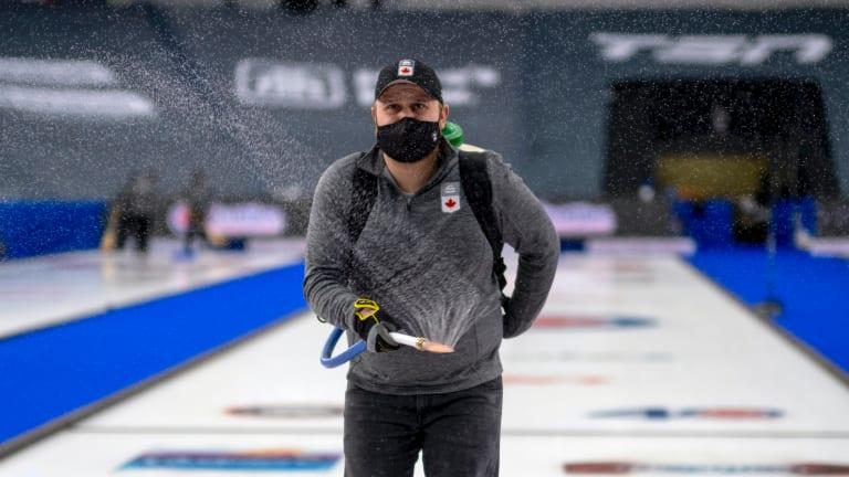 Curling Iceman, Shotmaker and Columnist