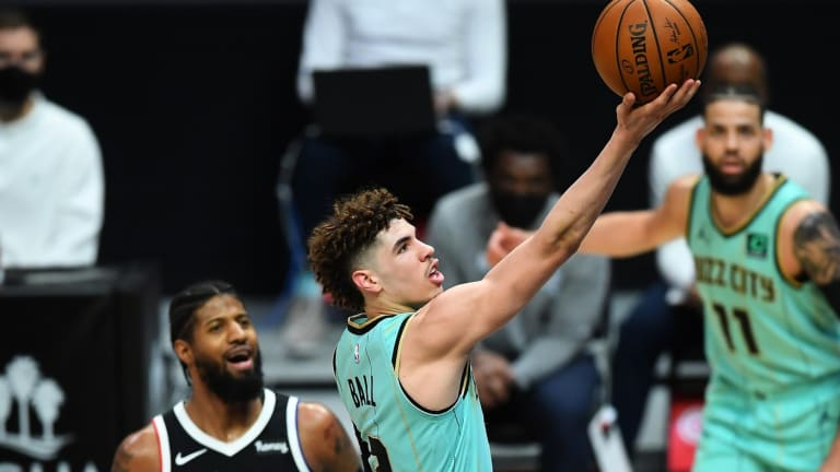 Paul George says Lonzo and LaMelo Ball have 'star potential'