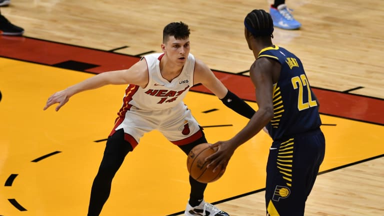Miami Heat Drop Third Straight After Overtime Loss to the Indiana Pacers