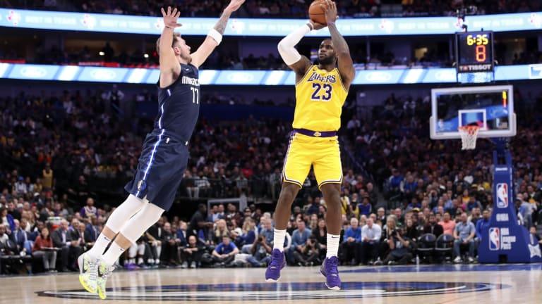 How LeBron Injury Changes Luka Doncic MVP Chances