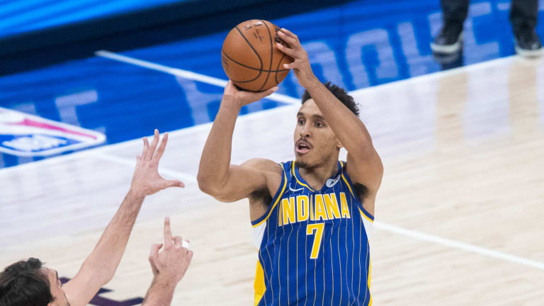 Report: LA Clippers Potential Suitors for Indiana Pacers Guard Malcolm Brogdon