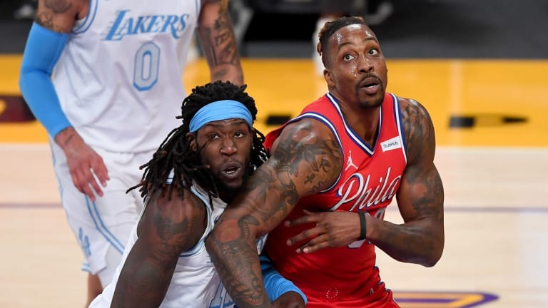 Lakers' Montrezl Harrell Brushes Off Altercation With Sixers' Dwight Howard