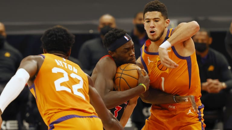 Inconsistency Continues to Haunt Raptors in Loss to Suns