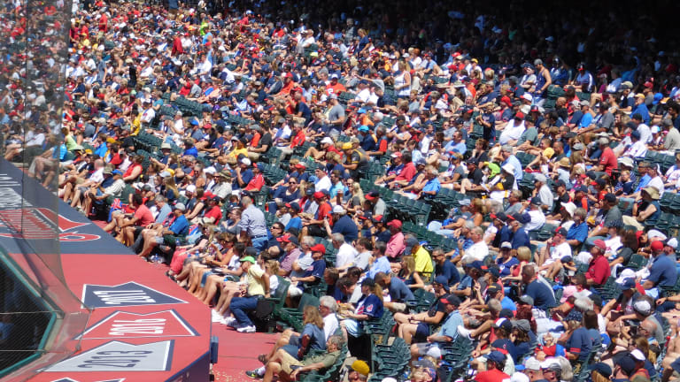 Indians Announce Higher Fan Capacity for the Month of May at Progressive Field