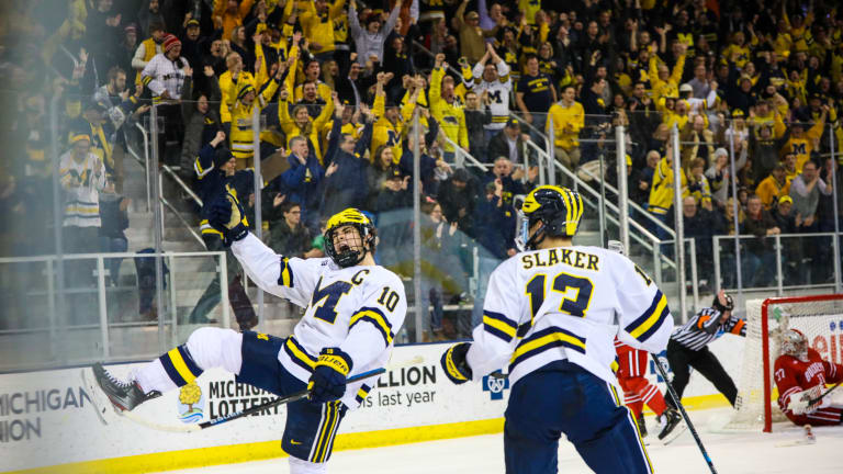 Michigan Hockey Strives For More After Weekend Split
