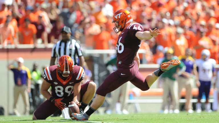Virginia Tech Football: Former Hokies Kicker Joey Slye Re-Signs With The Carolina Panthers