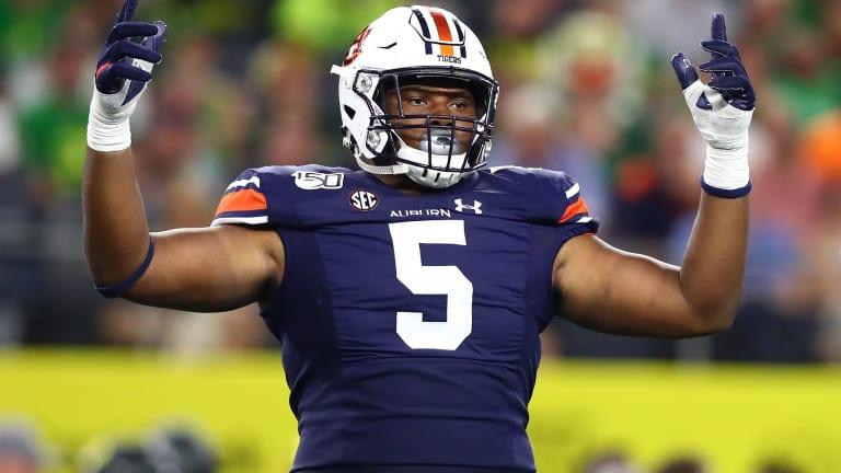 2020 NFL Draft: How Does Auburn DT Derrick Brown Make Sense for the Jaguars?