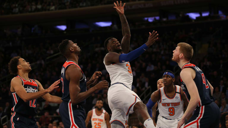Knicks head into break down, but not out