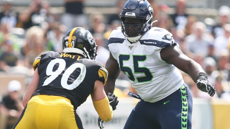 Seahawks T Germain Ifedi Poised to Strike Gold in Free Agency