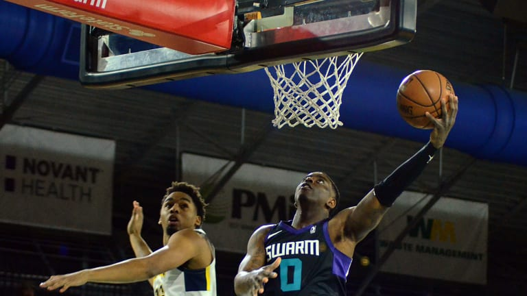 Charlotte Hornets: Dwayne Bacon drops 51 points in G-League victory for Greensboro Swarm