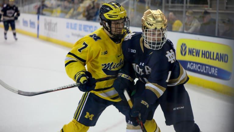 Michigan Hockey's NCAA Hopes Fade After Weekend Setback