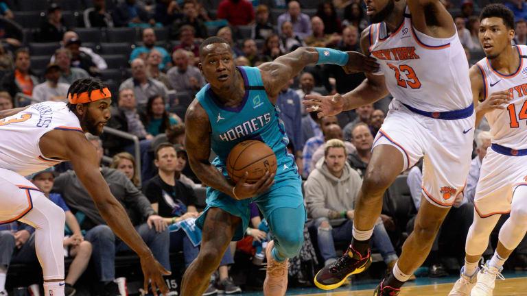 Hornets beat Knicks as big changes loom