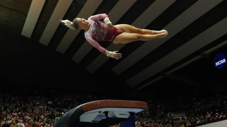 Alabama Gymnastics Overcomes Equipment Issue to Top Kentucky