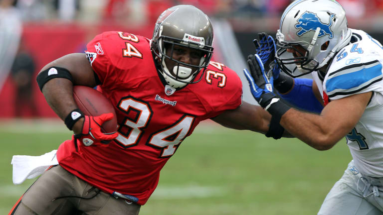 Buc of the Day: RB Earnest Graham