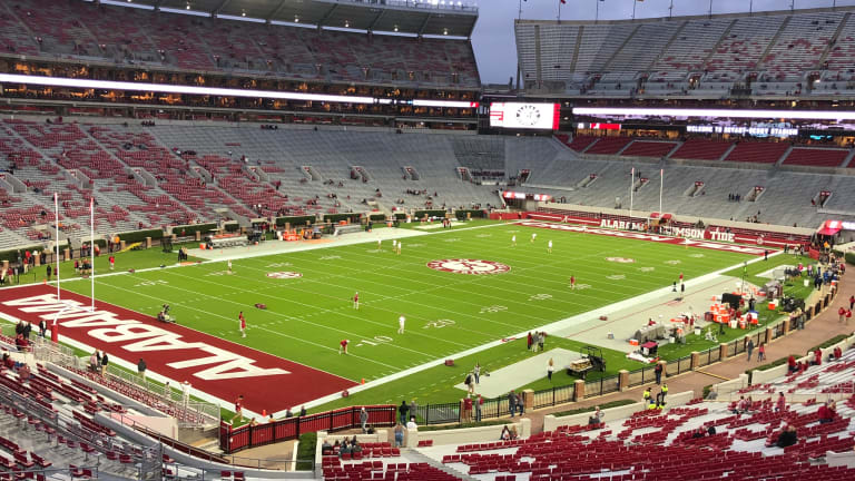 Alabama Teases Fans With New Football Locker Room Video