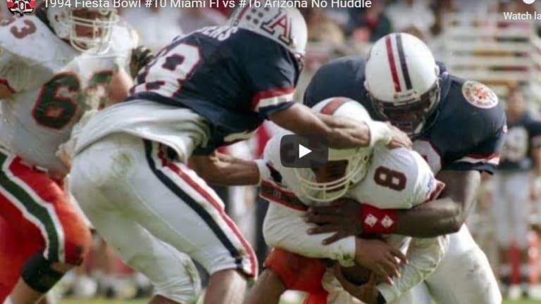 Offseason re-watch party: Arizona shuts out Miami in 1994 Fiesta Bowl